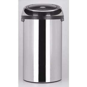 Brabantia touch top waste bin