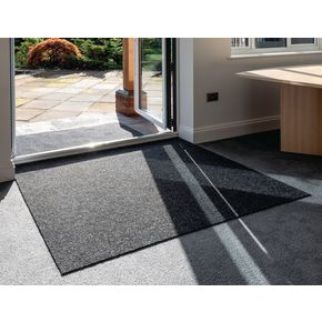 Deluxe ribbed entrance matting