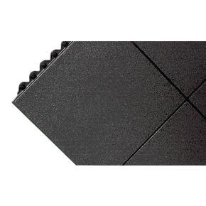 Rubber interlocking floor tiles - Solid surface
