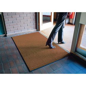 Crush resistant entrance matting - Brown - Choice of three sizes