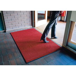 Crush resistant entrance matting - Red - Choice of three sizes