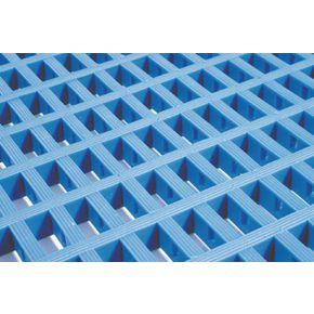 Heavy duty matting - 10m Roll - Blue in two widths