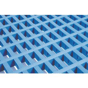 Heavy duty matting - 5m Roll - Blue in two widths