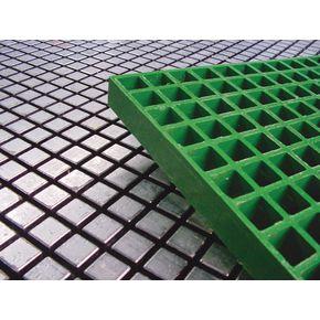 Fibreglass grating panels - Silver - General purpose