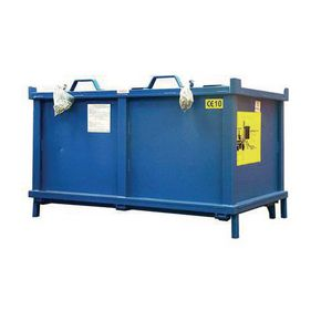 Automatic dumping containers - Without castors