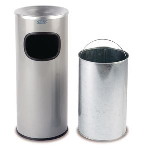 Combined ash/litter bins