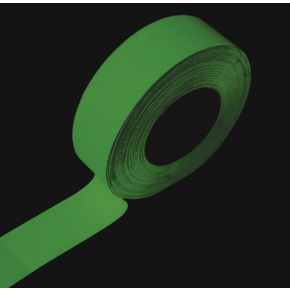 Photoluminescent slip resistant tape