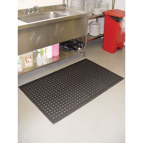 Washable nitrile rubber hygiene mats, 850 x 1400mm