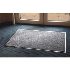 Moisture absorbent dust arrester entrance mats