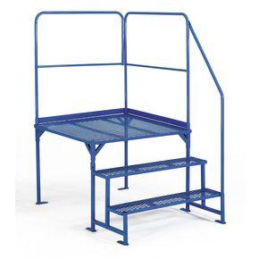 Static work platforms - Platform size - 1000 x 1000mm