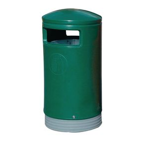 Outdoor hooded top bins