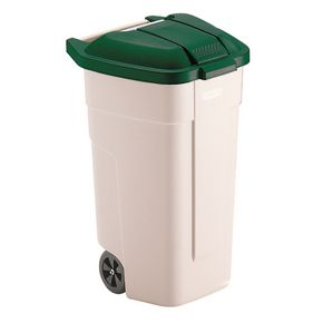 Big wheel recycled waste bin