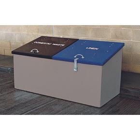 Waste storage units - Dark grey body