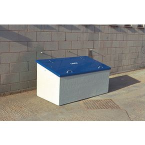Waste storage units - Light grey body