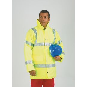 Hi-visibility coats to BSEN471 Class III
