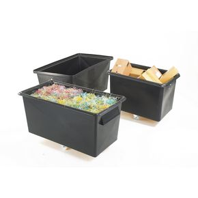 Recycled plastic container trucks, capacity 412 litres