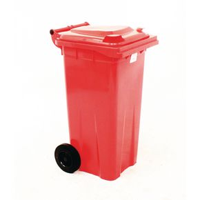 Wheelie bins 120L Red