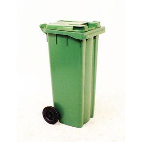 Wheelie bins 140L Green