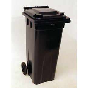 Wheelie bins 140L Grey