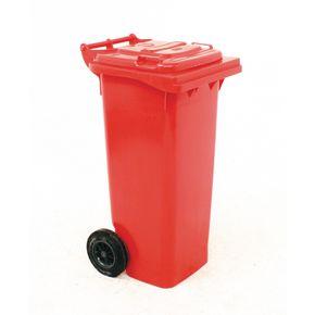 Wheelie bins 140L Red