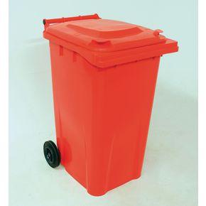 Wheelie bins 240L Red