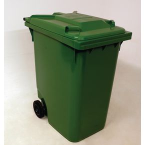 Wheelie bins 360L Green