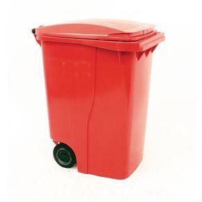 Wheelie bins 360L Red