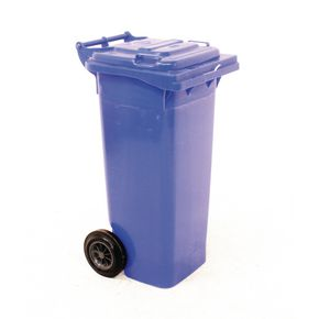 Wheelie bins 80L Blue