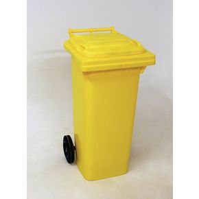 Wheelie bins 80L Yellow