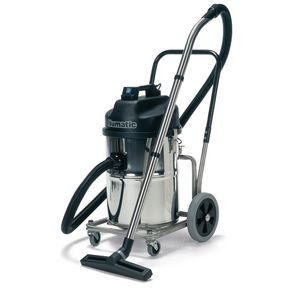 Numatic industrial stainless steel wet & dry vacuum cleaners