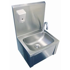 Hand Wash Sink Knee Operated Kitchen Hardware Catering
