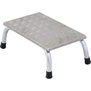 Static aluminium machinery steps
