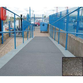 Heavy duty flat sheet for walkways - Black or stone