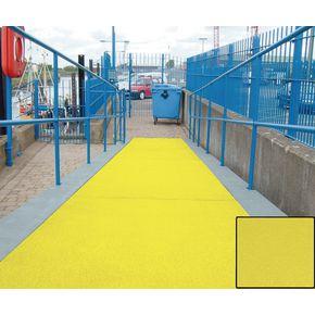 Heavy duty flat sheet for walkways - Yellow