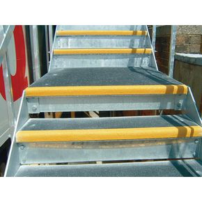 Heavy duty stair treads with 55mm nosings