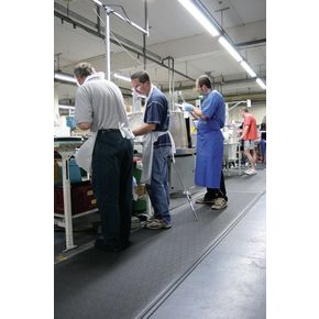 Dual layer industrial anti-fatigue matting - 900mm x 18.3m roll