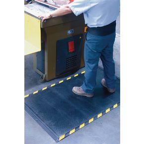 Premium anti-fatigue safety edge matting