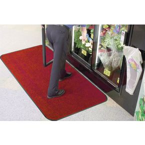Carpet and hard floor protector matting Red marll - Choice of two sizes
