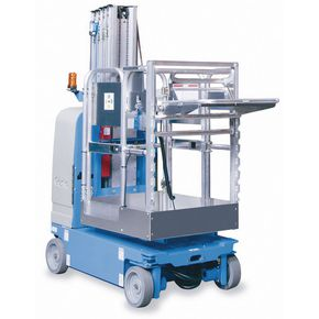 Drivable vertical personnel lift