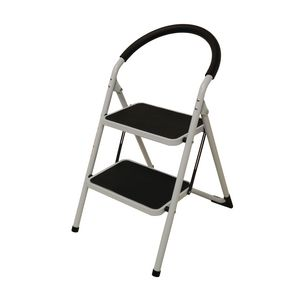 Folding step stools - 2 tread