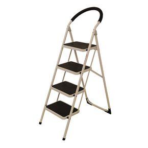 Folding step stools - 4 tread