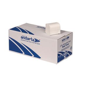 Folded toilet paper