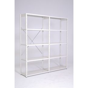 Steel shelving for suspension files - Add-on bay