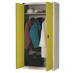 Slingsby WARDROBE CUPBOARD, SHELF & RAIL, YELLOW
