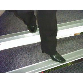 Aluminium nosings - H x W: 55 x 55mm
