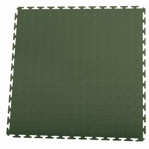 Hard 4.5mm thick studded floor tiles