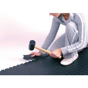 Edges for 7mm studded floor tiles - black