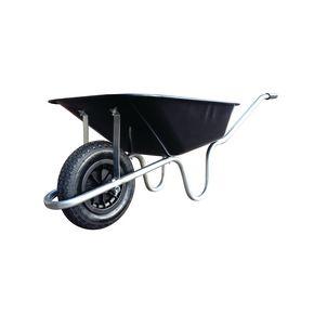 Heavy duty 100 litre wheelbarrow