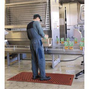 Anti bacterial anti fatigue matting