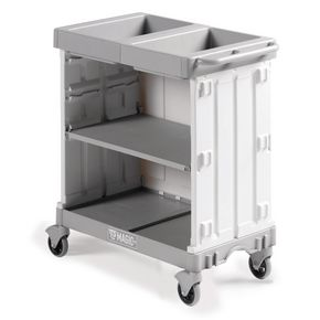 Maid service trolleys, suitable for 8 to 10 rooms
